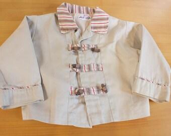 Vintage Toddler Jacket - 1950s Jack and Jill Togs Baby Boy Toddler Coat Jacket