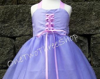 Custom Boutique Clothing  Rapunzel Inspired Sassy Girl Dress
