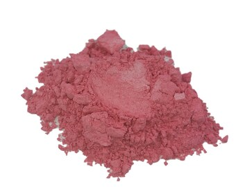 Pink Pearl Blush Mineral Makeup  Medium Pink  Large 30g Sifter Jar   Loose Make Up makeup Vegan Natural Light weight #32