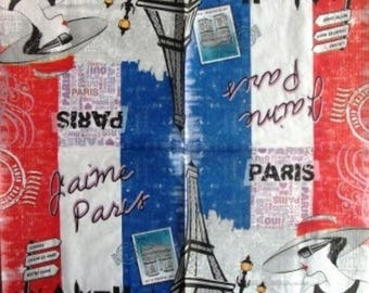 Paris #DI058 woman NAPKIN