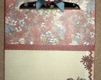 Raggedy Ann and Andy Altered Clipboard