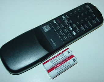 Fisher Sanyo Rem-1000 CD Recorder Remote Control CDR CDRW for Cdrw1000