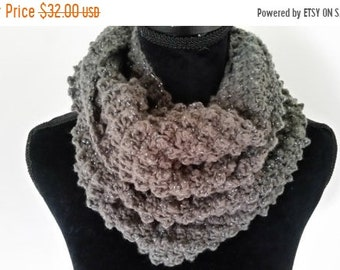 10.00 OFF Infinity Scarf - Cowl Scarf, Chunky Scarf, Scarves for Women, Neckwarmer Scarf, Handmade Scarf, Gifts for Her
