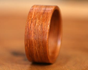 Cocobolo Bentwood Ring - Handmade
