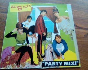B _52,s Party Mix Vinyl 12,EP IPM1001 Uk