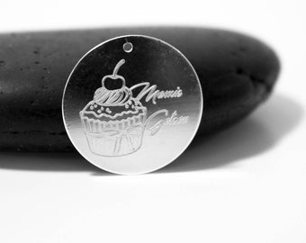 GRAND mother pendant engraved Grandma cake EDITION