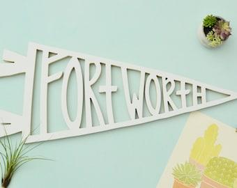 Fort Worth pennant