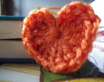 Heart Book Mark