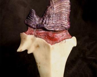 "Dragon Tooth ""Alduin"" Dagger - Purple"