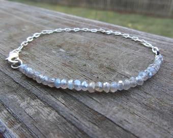 Boho Bracelet, Boho Beaded Bracelet, Friendship Bracelet, Gemstone Bracelet,  Gifts for her, Beaded Art Bracelet, Sparkle, Holiday Bracelet.