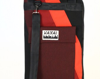 Red and Black Drum Stick Bag