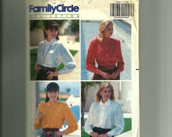 Vintage Butterick Misses' Shirt Pattern 5060