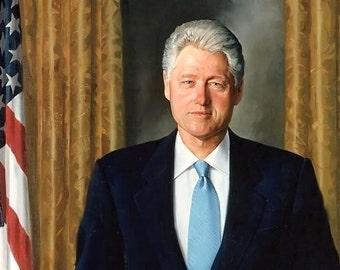 Bill Clinton - President Bill Clinton White House Portrait