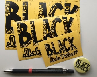 All BLM Stickers