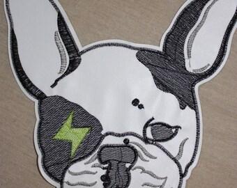 1 badge Bulldog Dog lightning