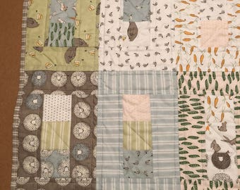 Peas in a Pod Baby Quilt