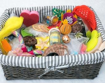Explore and Learn Baby Treasure Basket: Luxury