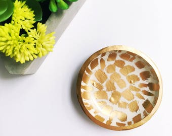 SUNBURST // Polymer Clay Ring Dish, Jewelry Dish, Trinket Dish, gifts for her
