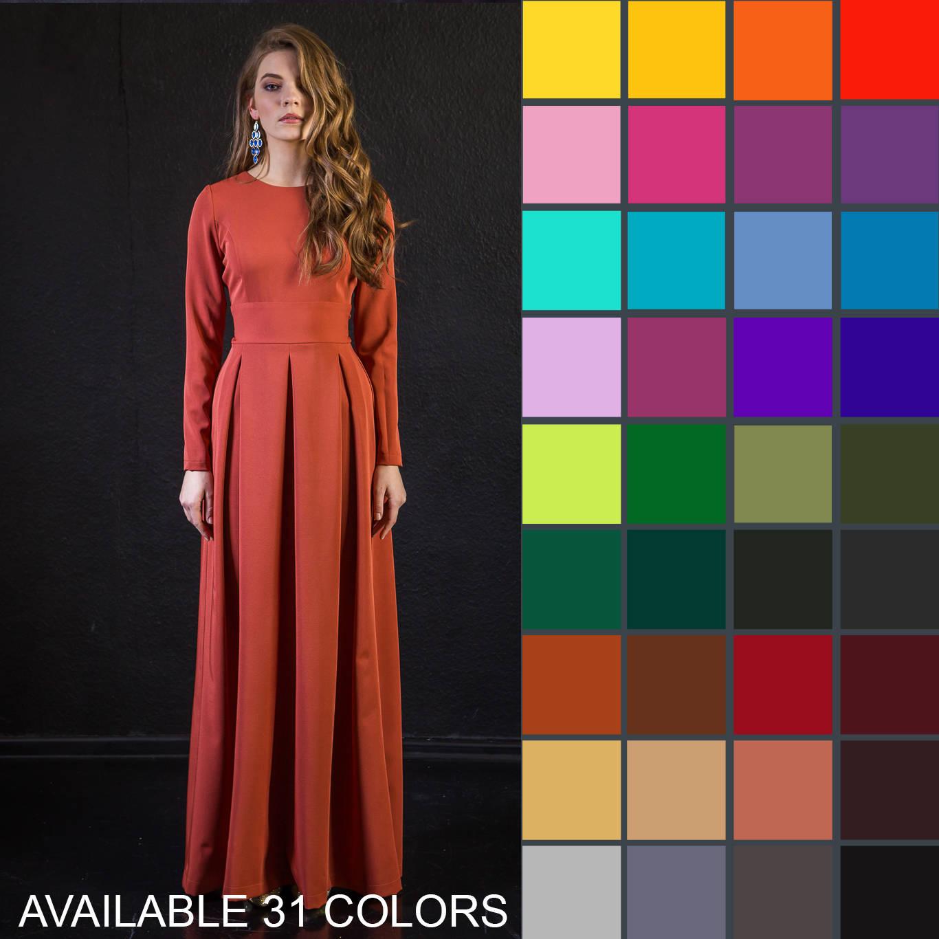 Rotes Kleid Kleid Winterkleid Plus Größe Maxi-Kleid