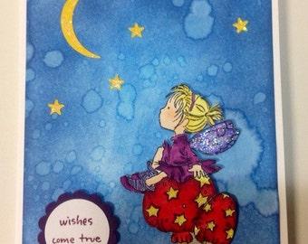 Wishes Come True Fairy card