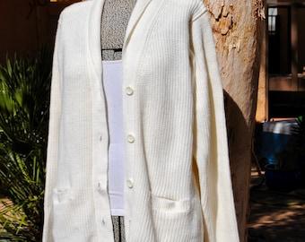 Vintage 1980's Soft Knit Cardigan