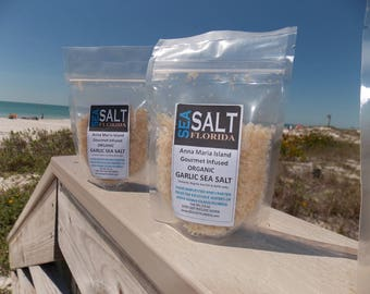 Organic Garlic Sea Salt from Anna Maria Island