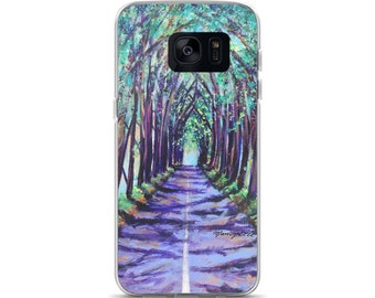 Samsung Phone Case - Kauai Tree Tunnel