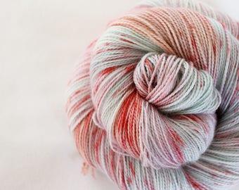 Strawberry Swing - Gosling - 80/10/10 superwash merino/ cashmere/ nylon sock yarn