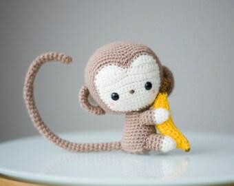 Chinese New Year Monkey Crochet Pattern