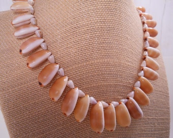 Isabella Cowry Shell Lei Cone Shell Puka Shell Lei Island Style Aloha Beach Wear Mermaids Hawaii Shell Jewelry - OOAK - Puka Shell Necklace