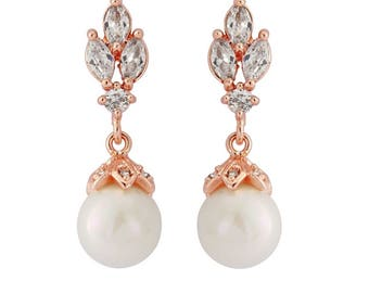 Rose gold earrings, rose gold earrings studs, rose gold earrings drop, rose gold ears, rose gold earrings pearl, rose gold earrings uk,