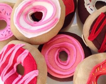Custom Dog Toy | Squeaky Donut | Dog Toys | Donut | Toy for New Puppy | Dog Toy | Donut Toy | Gift for Dog Lover | Dog Gift