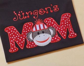 Mom Sock Monkey T-Shirt