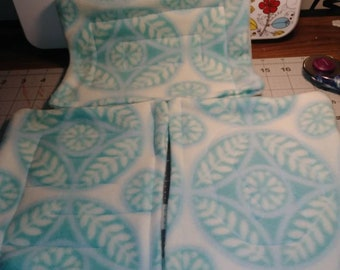 Blue and white fabric marble maze sensory toy adhd autism dementia calm focus