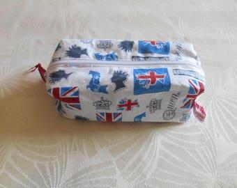 Kit English rectangular motif cotton inner jean