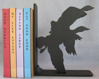 Geese Silhouette Bookend