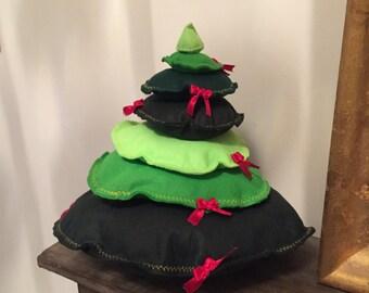 Christmas felt tree