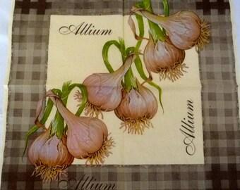 Allium napkin