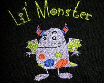 Lil Devil or Lil Monster -  Toddler T-Shirt