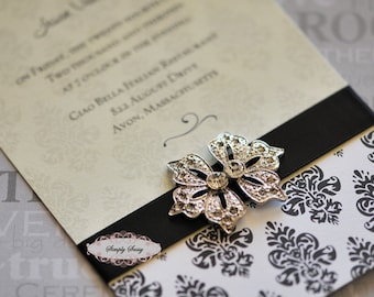 5 pcs RD115 Rhinestone Metal Flatback Embellishment Button Brooch Bridal accessories invitations crystal bouquet flowers hair clip comb