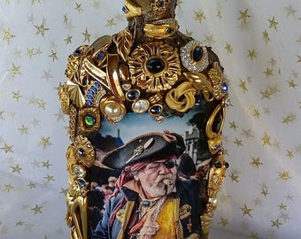 Pirate Decorated Bottle