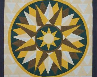 Mandala inner diamonds n.7,MOTION, Spiritual healing object
