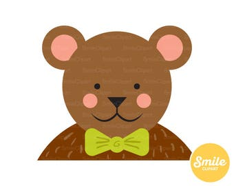 Teddy Bear Clipart Illustration for Commercial Use