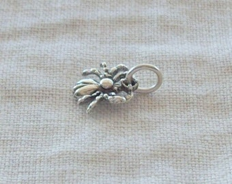 SALE - Sterling Silver Spider Charm