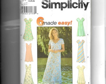 Simplicity Misses' /Miss Petite Dress  Pattern 7964