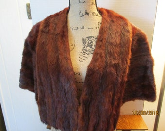 Vintage Fur Stole, Vintage Sale