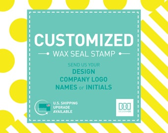 Customized Wax Seal Stamp (DODUP001)
