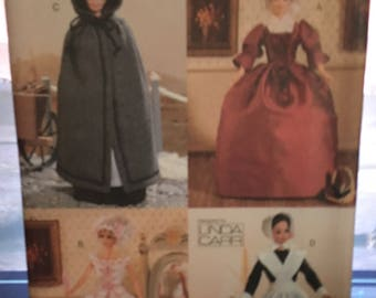 Linda Carr Historical Clothing Pattern - pattern 7039