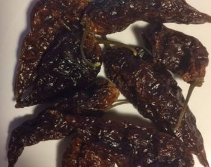 RARE Yellow Fatalii Chile Pods, Roasted - A Very Hot Chile