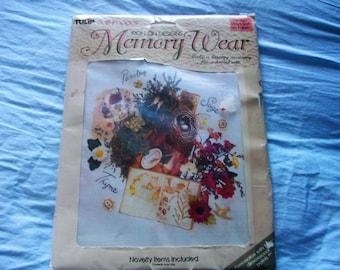 Memory Wear Iron-On Transfer Designs Nature Theme